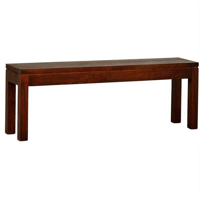 Amsterdam Dining Bench 90 cm Full Solid TEK168 BE 90 35 RPN ( Picture for Reference Only ) ( Mahogony Colour ) xx