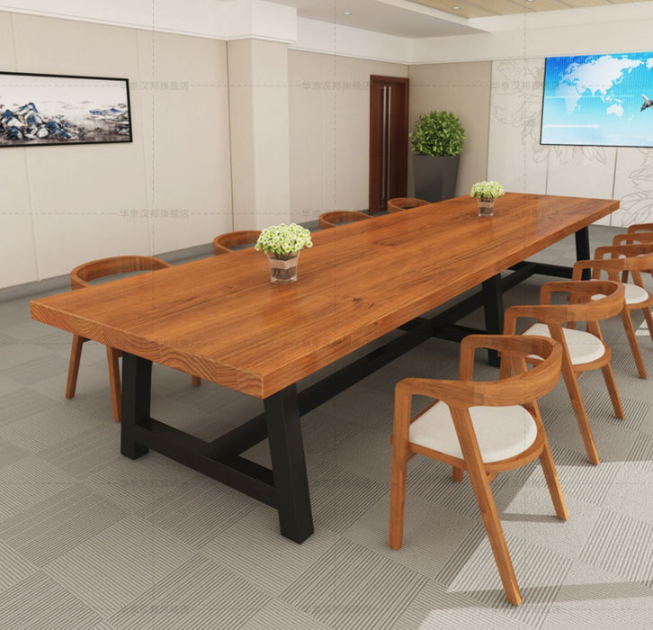 EVELYN Solid Wood Conference / Dining Table