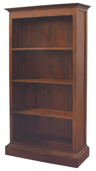 MP - Tasmania Bookcase 4 Shelves Book Cabinet TEK168 BC 000 PN  (Black Colour)