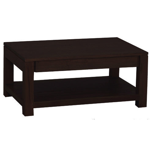 Amsterdam 2 Drawer Coffee Table TEK168  CT 002 TA (Mahogony Colour)