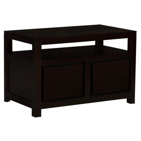 MP - Stavoren Amsterdam TV Stand Full Solid 2 Door 1 Shelf TEK168 TV 200 TA M ( Chocolate Color )