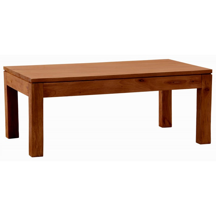 Hoogeveen Amsterdam Coffee Table Rectangular Design Full Solid Wood TEK168 CT 000 TA ( Chocolate Color )