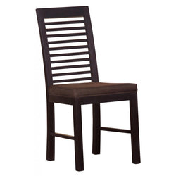 Amsterdam Dining Chair with Cushion Chocolate Colour TEK168 CH 000 HSR with Cushion