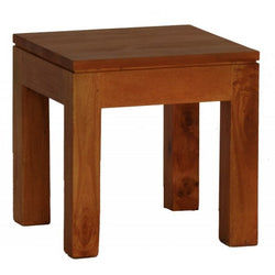Amsterdam Bed Side Table Full Solid TEK168 LT 000 TA M Coffee Table ( Light Pecan Colour )
