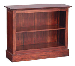 Tasmania Bookcase 2 Shelves Book Cabinet TEK168 BC 000 HS SM ( Mahogany Colour )