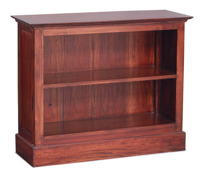 Tasmania Bookcase 2 Shelves Book Cabinet TEK168BC 000 HS SM ( Mahogany Colour )