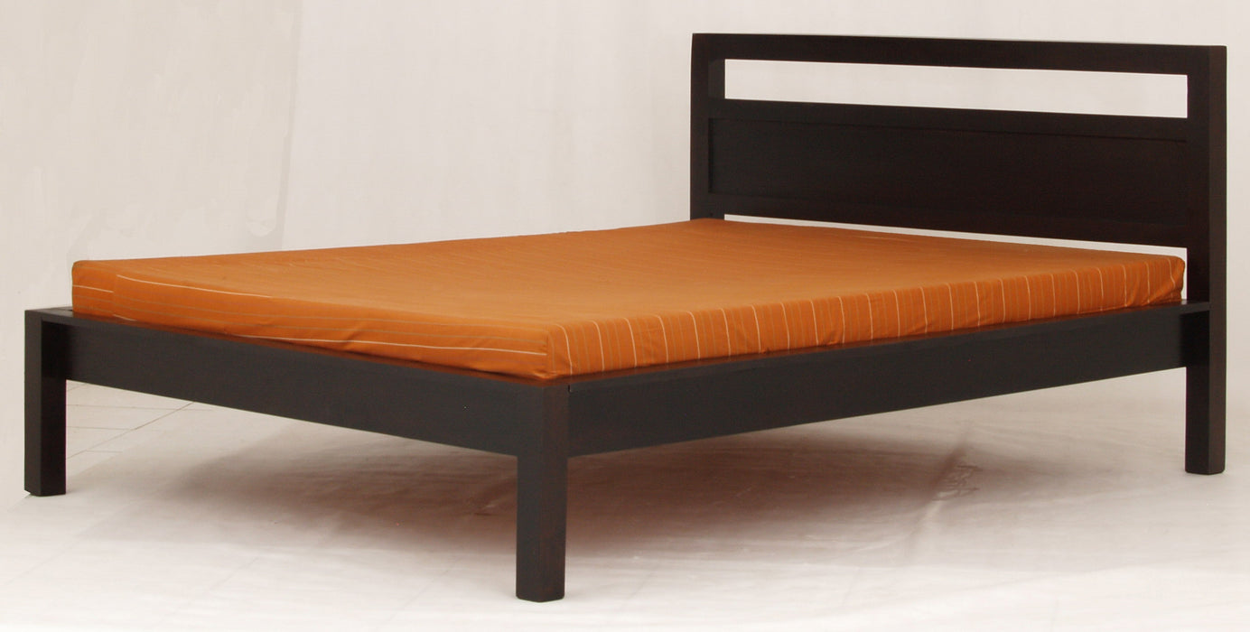Milan Paris Queen Bed Fit Mattress 193 x 153 cm TEK168 BS 000 PNMK QS ( Queen ) ( Chocolate Colour )