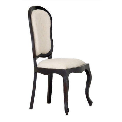 MP - Queen AnnMary Solid Timber Dining Chair 6 Piece Package Set ( 6 Non Armchair ) - TEK168 CH 54 56 QA DC ( Picture for Reference Only ) ( Chocolate Colour )