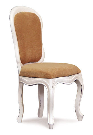 Queen AnnMary French Chair with sitting cushion attached  TEK168CH 000 QA DC