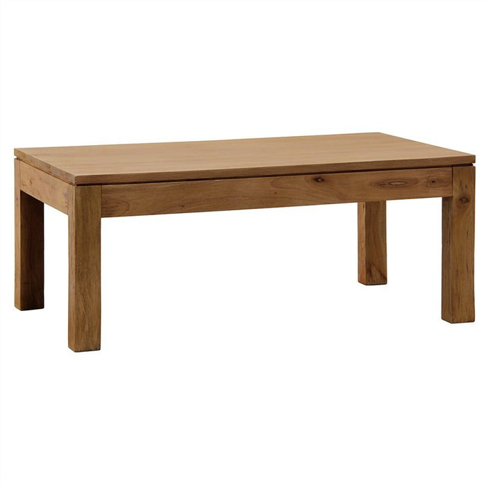 MP - Emmen Amsterdam Solid Wood Timber Coffee Table, 100cm x 60cm , Teak TEK168 CT 000 TA NT ( Picture Illustration Colour for Reference Only ) ( Light Pecan Colour )