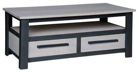 Davis Industrial Design Coffee Table 2 Drawers TEK168CT 002 DVS