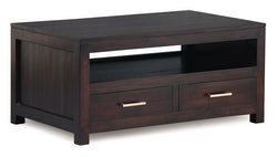Milan Coffee Table 4 drawers TEK168 CT 004 PNMK (Chocolate Colour)