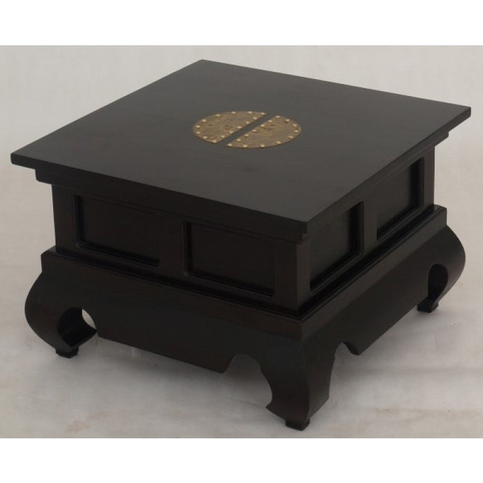 Chinese Lamp Table 60 cm TEK168 LT 60 60 CSN ( Chocolate Colour )