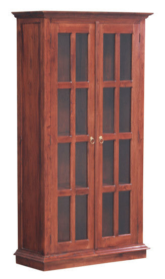 Teak-2-Door-Display-Cabinet-TEK168DC-200-PN