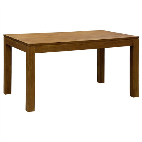 Hoogeveen Amsterdam Solid Wood Timber Dining Table, 150cm, Teak TEK168 DT 150 90 TA-NT 1 Table Only