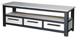 Davis Industrial Design TV Console 3 Drawers 1 Bottom Shelves TEK168EU 003 DVS
