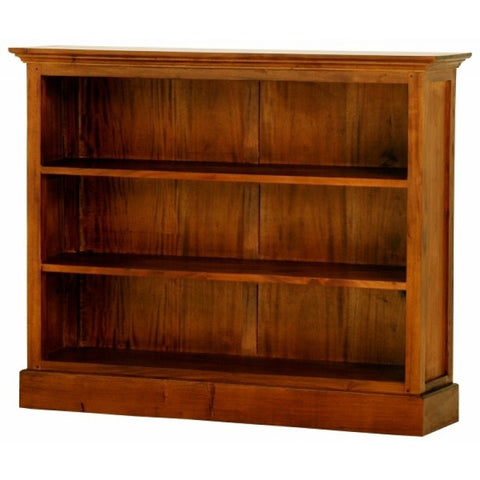 Tasmania Bookcase 3 Shelves Book Cabinet TEK168BC 000 HS W ( Light Pecan Scandinavian Natural Colour )