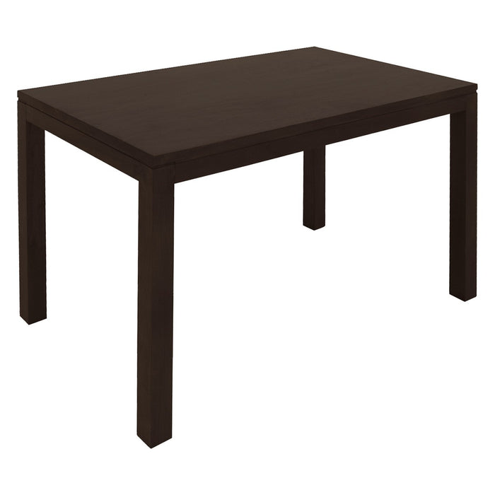 Amsterdam Dining Table ONLY 180 x 90 x 78 cm Full Solid TEK168 DT 180 90 TA (ChocolateColour )