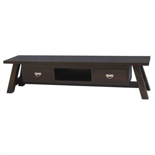 Japanese-200cm-Teak Entertainment-Unit-in-Mahogany-or-Chocolate-TV Console TEK168SB-002-JS