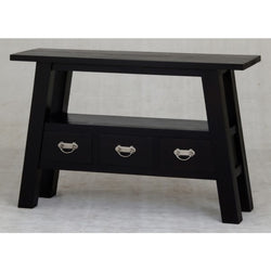 MP - Japanese Hall Table Sofa Console TEK168 ST 003 JS ( Chocolate Color )