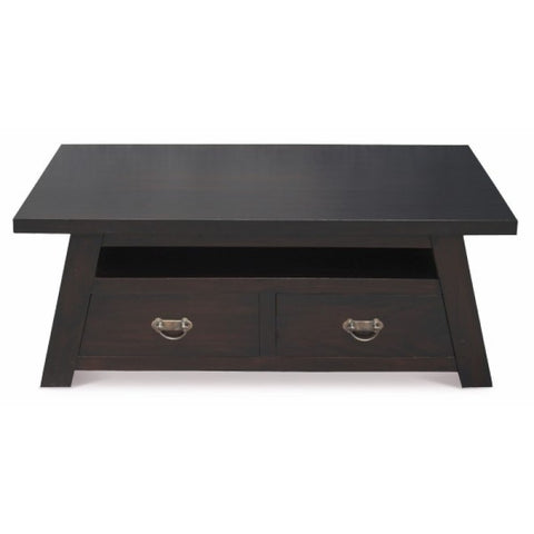 Japanese Coffee Table with 4 Drawers TEK168 CT 004 JS ( Chocolate Colour )