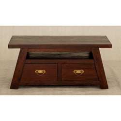Japanese Coffee Table with 4 Drawers TEK168CT 004 JS ( Mahogany Colour )