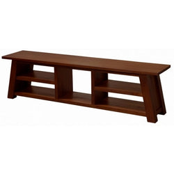 1 Member Special - Japanese TV Console 5 Shelves Design TEK168 SB 000 JS ( Mahogany Colour )