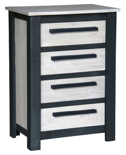 Davis Industrial Design Chest of Drawers 4 Drawers Commode TEK168LT 004 DVS  ( Pre Order 8 - 12 weeks )
