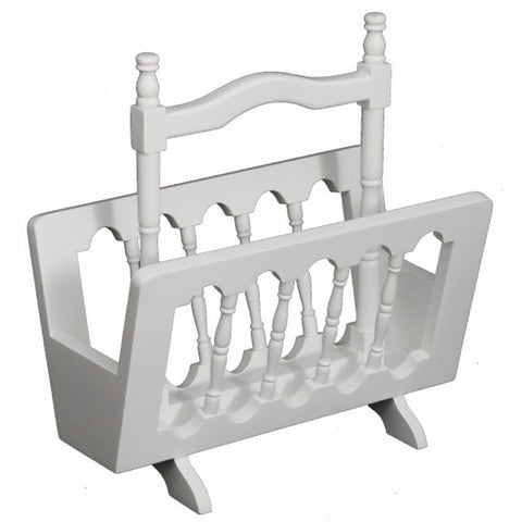 Signature Magazine Rack TEK168WD 002 MGR ( White Colour )