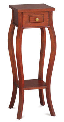 Signature Telephone Table Planter Stand  Side Table TEK168PS 001 CL ( Mahogany Colour )