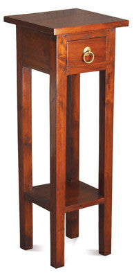 Signature Telephone Table Planter Stand TEK168PS 001 SL Side Table ( Mahogany Colour )