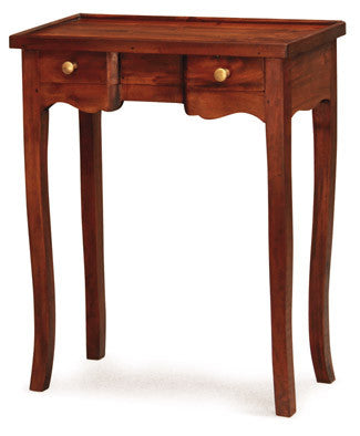 Signature Console Table 2 Small Drawers TEK168 PT 002 QA Desk ( Light Pecan Colour )