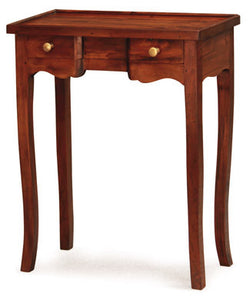 Member Special - Signature Console Table 2 Small Drawers TEK168PT 002 QA Desk Chocolate Colour