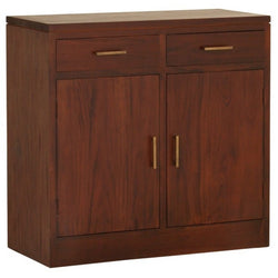 Milan Buffet Sideboard 2 Drawer 2 Doors TEK168 SB 202 PNMK ( Picture Illustration Colour for Reference Only ) ( Light Pecan Colour )