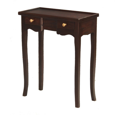 Signature Console Table 2 Small Drawers TEK168 PT 002 QA Desk ( Picture for Reference ) ( Chocolate Colour )