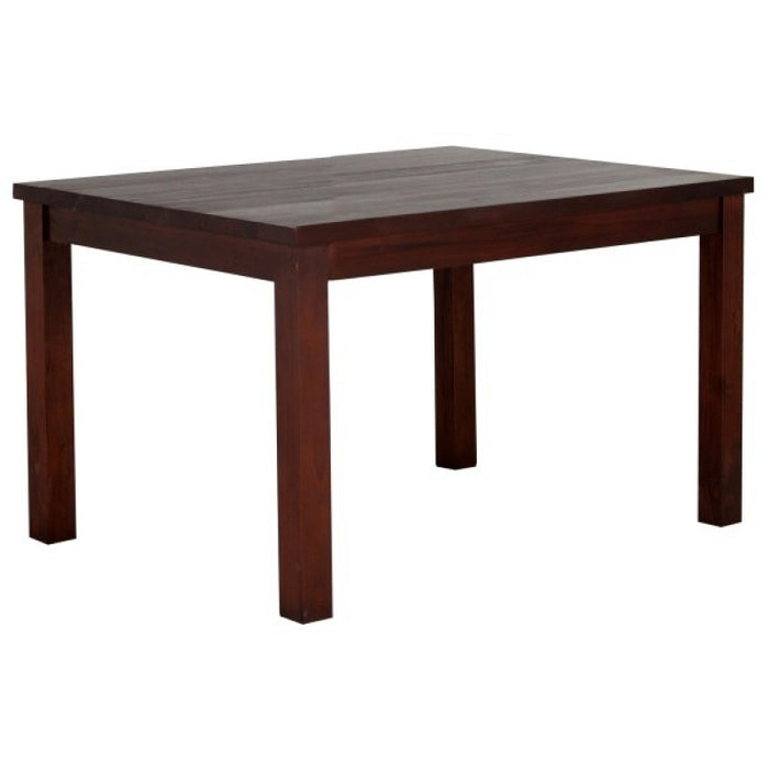 Amsterdam Dining Table ONLY 100 x 100 x 78  Full Solid TEK168 DT 100 100 RPN ( Mahogany Colour )