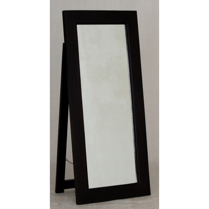 01 Member Special - Rectangular Mirror without Stand 65x150 Size: 65W 4D 150H TEK168 MR 65 150  SM  ( Mahogany Colour )