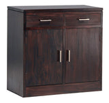 Milan Buffet Sideboard 2 Drawer 2 Doors TEK168 SB 202 PNMK ( Picture Illustration Colour for Reference Only ) ( Mahogany Colour )