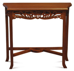 01 Member Special - Signature French Console Table TEK168ST 000 CV Desk ( Mahogany Colour )