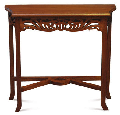 Signature French Console Table TEK168ST 000 CV ( Mahogany Colour )