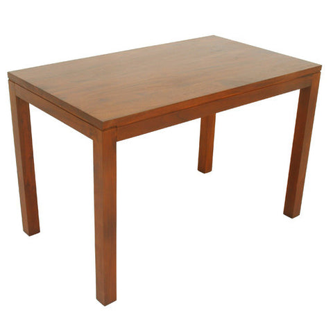 Amsterdam Dining Table 120cm x 70 cm TEK168DT 120 70 TA ( Mahogany Color ) Table Only