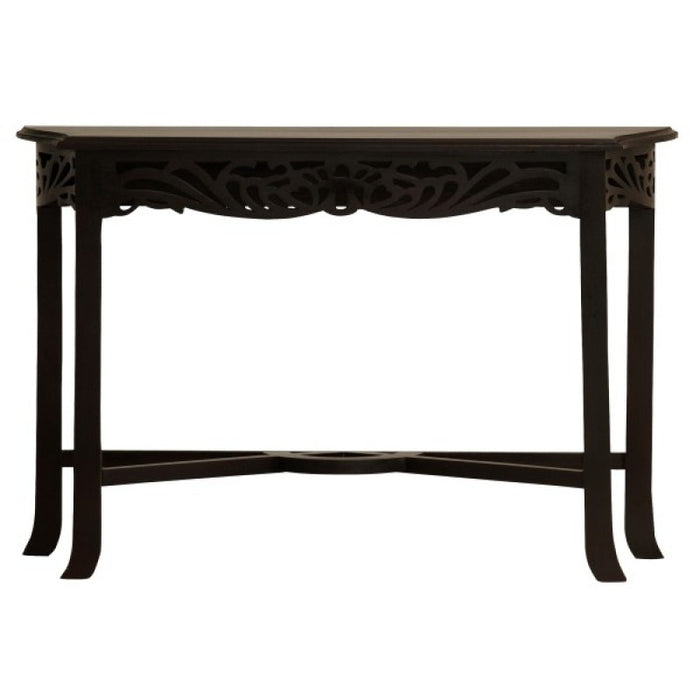 Signature French Console Table 120 cm TEK168ST 000 CV ( Chocolate Colour )
