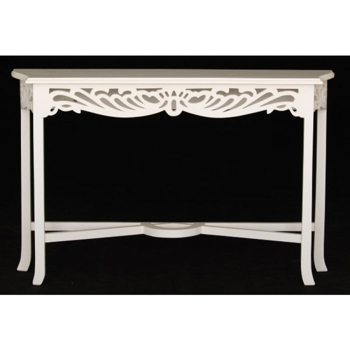 Signature French Console Table 120 cm TEK168ST 000 CV ( White Wash Colour )