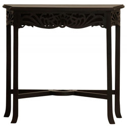 Member Special - Signature French Console Table TEK168 ST 000 CV Desk Chocolate Colour