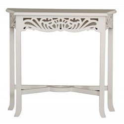 Signature French Console Table TEK168 ST 000 CV ( White Colour )