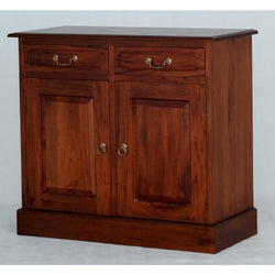 1 Member Special - Allawah Tasmania Buffet Sideboard 2 Door 2 Drawer Solid Wood  TEK168 SB 202 PN ( Light Pecan Color )