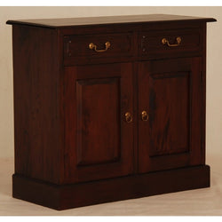 1 Member Special - Allawah Tasmania Buffet Sideboard 2 Door 2 Drawer Solid Wood  TEK168 SB 202 PN ( Mahogany Color )