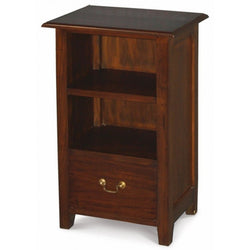 01 Member Special - 1 Drawer Lamp Table Solid Timber Wood  LT-001-PN Name: Tasmanian 1 Drawer Lamp Table Size: 50W 35D 80H TEK168LT-001-PN ( Mahogany  Colour  )