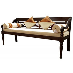 Southport Daybed Sofa Bed 200cm with Free Mattress and Free Cushion TEK168CH 004 TW ( Chocolate Colour )