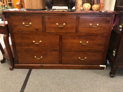 Tasmania 7 Drawer Chest of Drawers Commode ( Mahogany Color ) TEK168TB 007 PN
